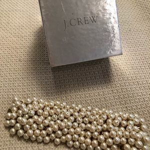 Gorgeous JCREW pearl cuff